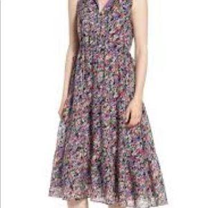 Nordstrom Signature Silk Floral Dress